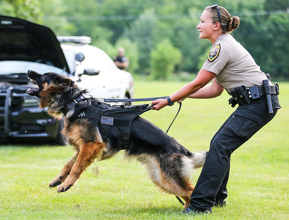 Broadview Heights Home Days K9 Demo