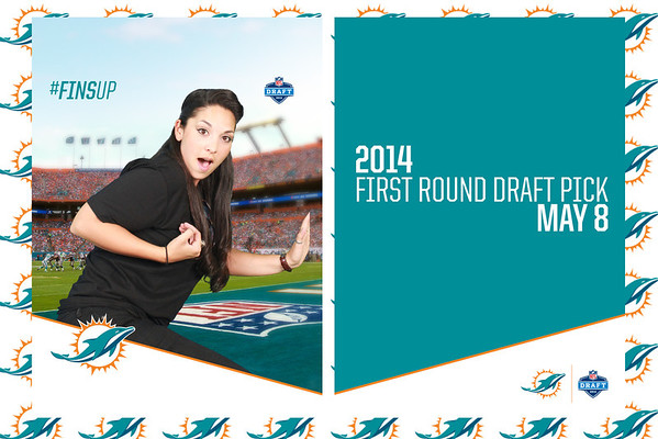 2014-05-08 Miami Dolphins Draft Day