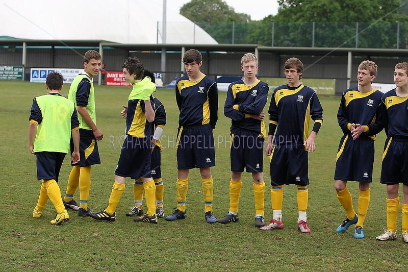 Melksham United V Trowbridge Town B Under 15's League Cup Final