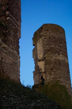 Champtocé - ruines château médiéval