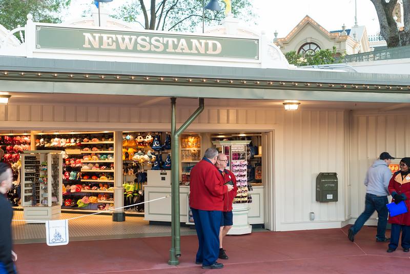 Newsstand - Magic Kingdom Walt Disney World