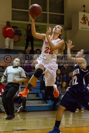 Boone Girls JV Basketball #22 - 2013