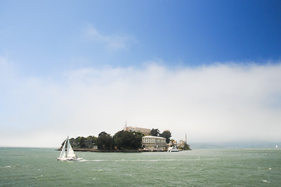 Alcatraz Island at San Francisco, CA.