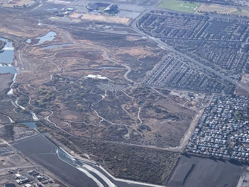 Clark County Wetlands Park and Sam Boyd Stadium
