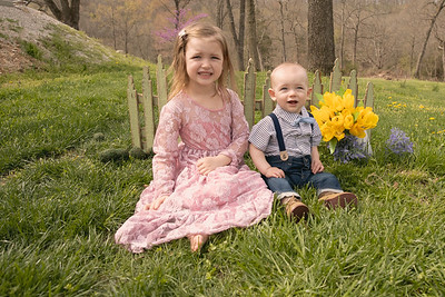Anslee & Barret Easter 2020