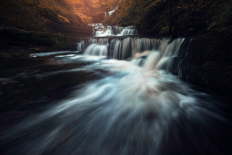 Scaleber Force 2 Waterfall Yorkshie Dales fine art england.jpg