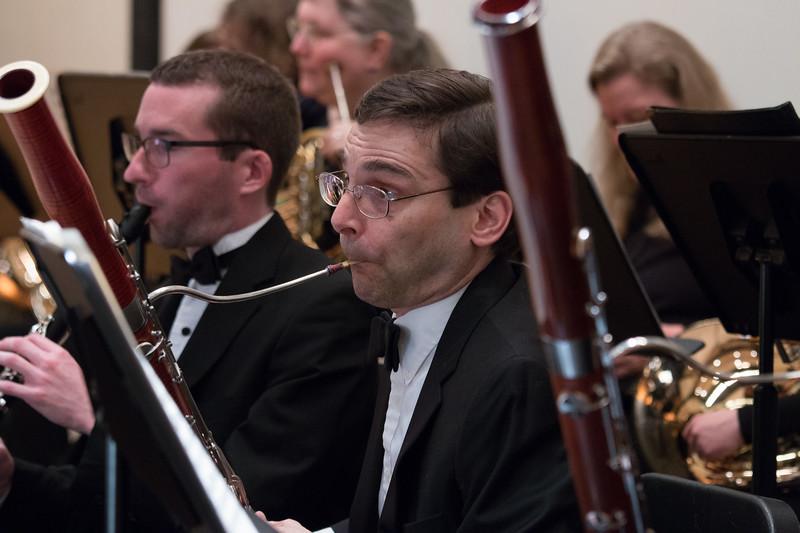 Dan Reich, bassoon -- Hopkins Symphony Orchestra, April 2017