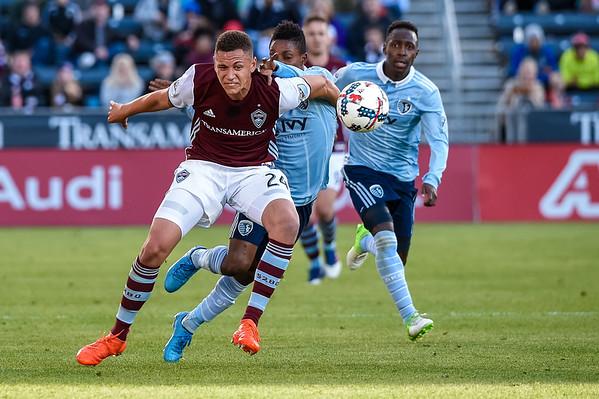 Colorado Rapids vs Sporting KC - MLS Socer - 2017-05-27