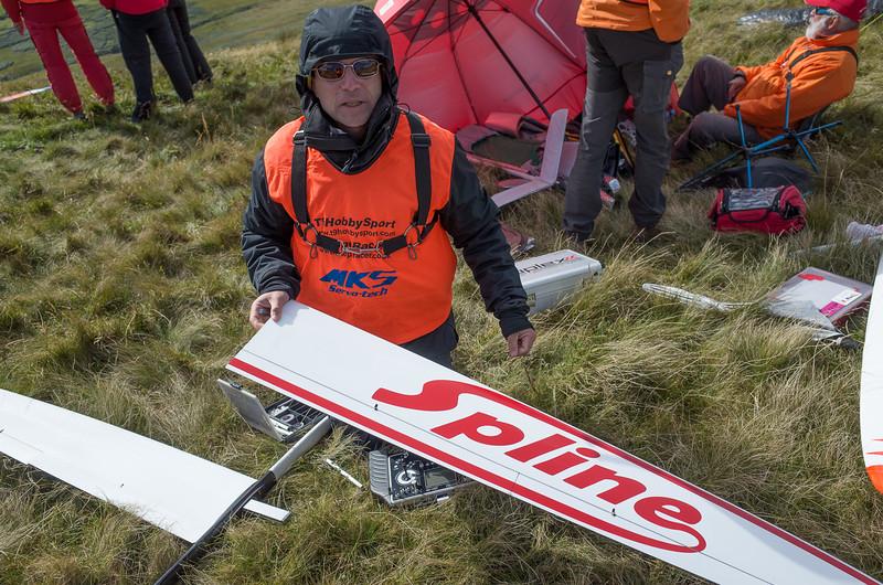 """Spline"" is project by the Danish F3B team"