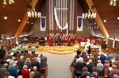 Mountain View UMC 05-05-2013 10:30 Service - Music Heritage Sunday