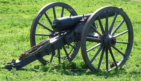 Civil War Reenactment, 3-8-09