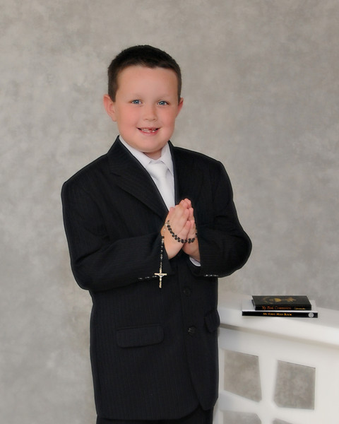 Nicholas Pullman-1st Holy Communion