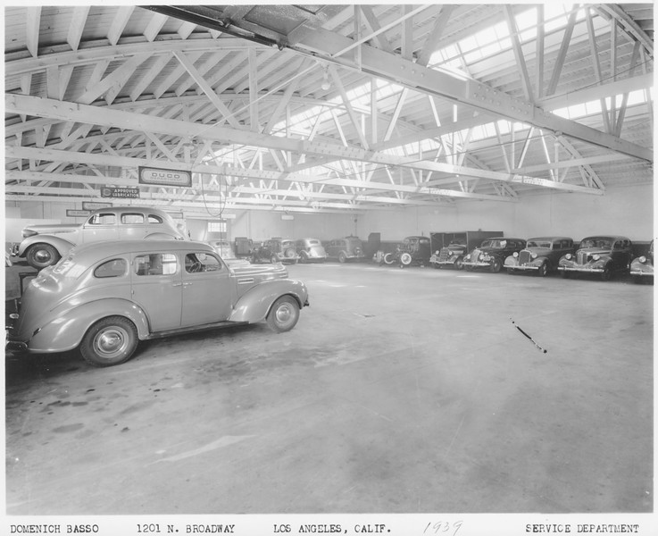 1939, Service Department