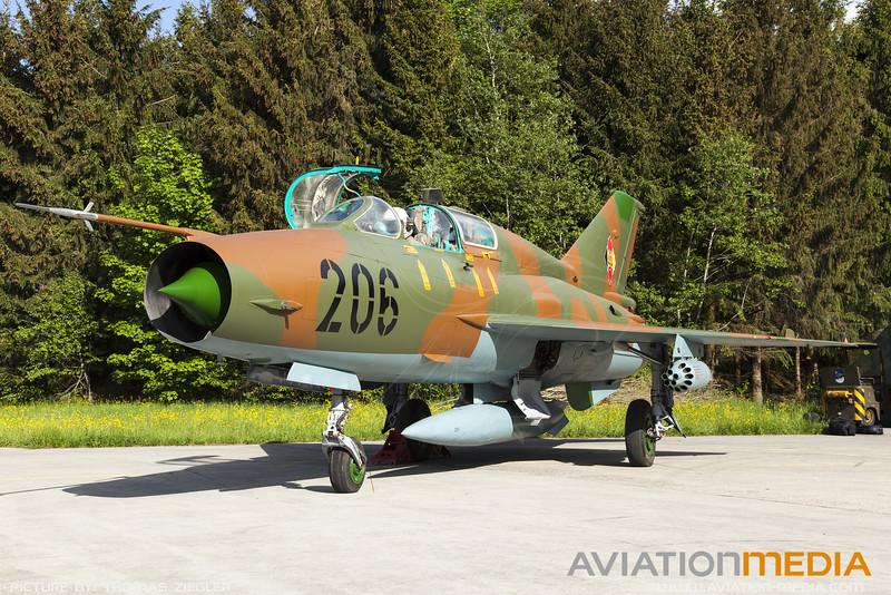 East German Air Force MiG-21