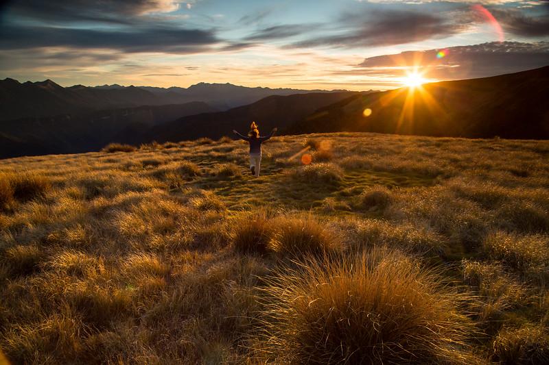 Taylor Gulikson in Kahurangi National Park, New Zealand