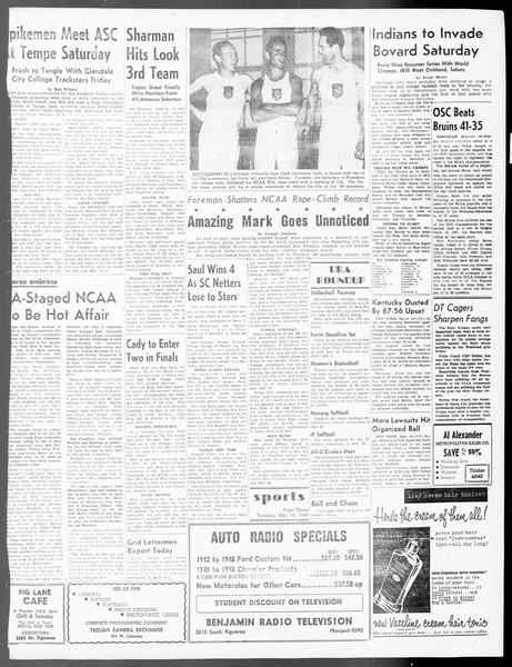 Daily Trojan, Vol. 40, No. 98, March 15, 1949