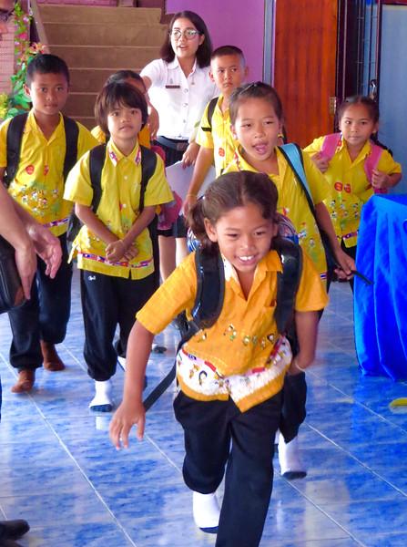 3rd Grade Lesson Study in Khon Kaen