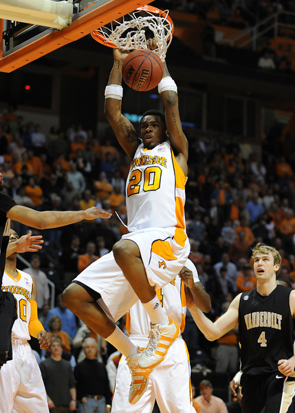 Vandy at UT Vols MBB '10