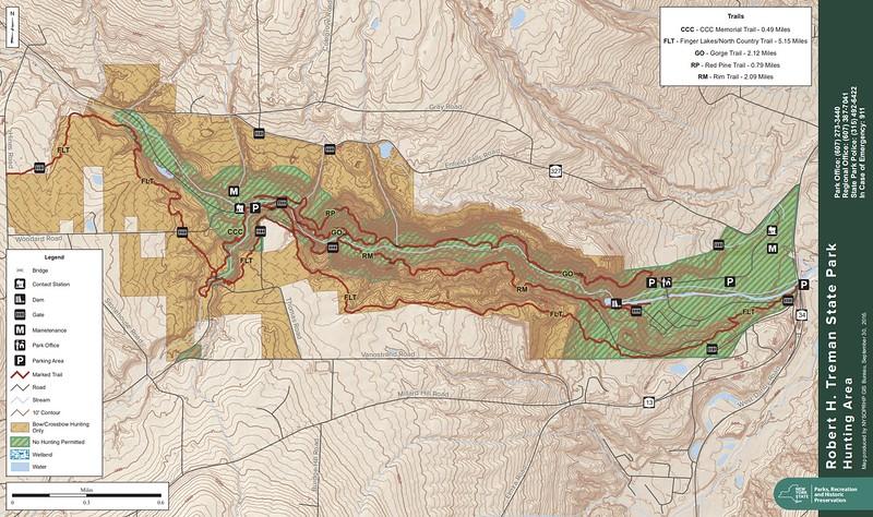 Robert H. Treman State Park (Hunting Map)