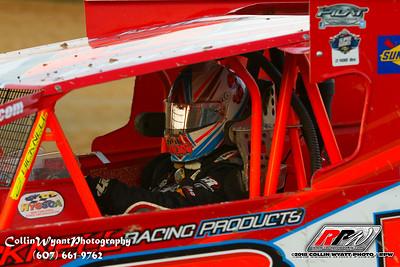 Woodhull Raceway - 8/4/18 - Collin Wyatt