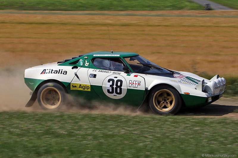 Lancia Stratos - Fred Walter DEU @ Eifel Rallye Festival Germany 16Jul11