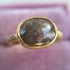 1.56ct Rustic Rose Cut Diamond Bezel Ring, by Single Stone 12