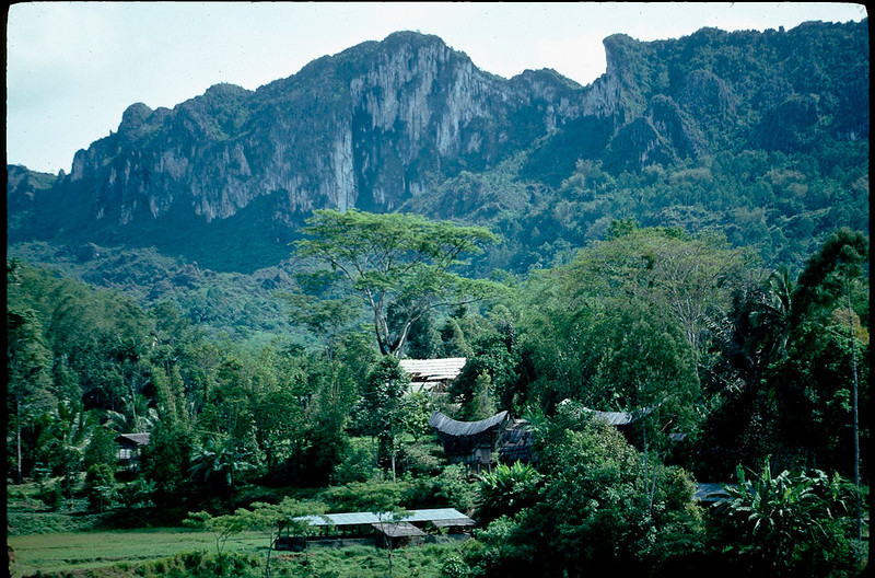 Toraja people's valley is completely isolated