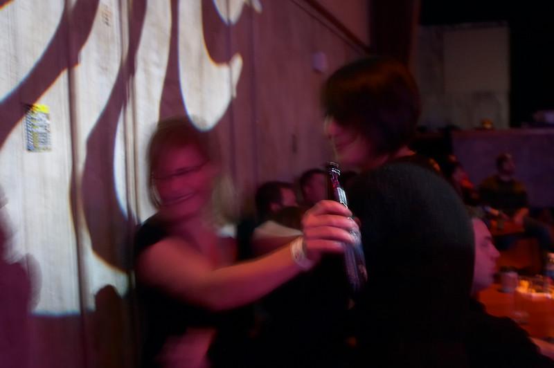 Remembering high school, Krista and Jennifer slow dance