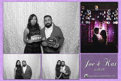 Kat & Joe Wedding - November 16, 2019