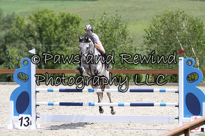 Grand Prix Ring: High Children's/Adult Jumpers