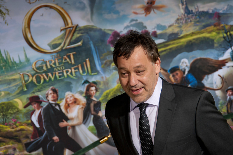 HOLLYWOOD; CA - FEBRUARY 13: Director Sam Raimi and Gillian Raimi arrive at the world premiere of Walt Disney Pictures' 'Oz The Great And Powerful' at the El Capitan Theatre on Wednesday February 13; 2013 in Hollywood; California. (Photo by Tom Sorensen/Moovieboy Pictures); CA - FEBRUARY 13: Director Sam Raimi arrives at the world premiere of Walt Disney Pictures' 'Oz The Great And Powerful' at the El Capitan Theatre on Wednesday February 13