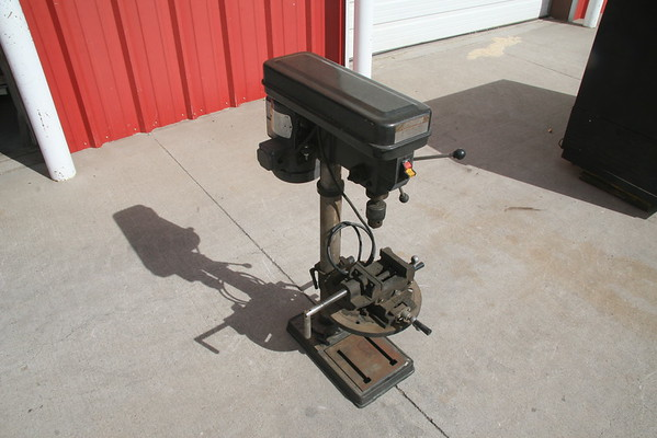 SOLD - Drill Press w/XY vise - SOLD