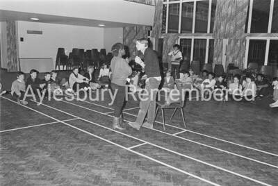 Auditions for National Youth at Grange School, Jan 1985