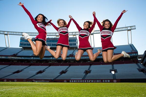 University of South Carolina - Katelyn, Lauren, Sarah Jo & Wynser
