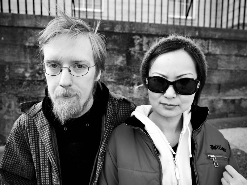 Funky Couple - Edinburgh - Street Portrait