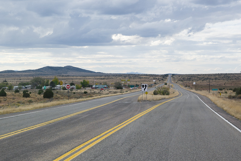 Scenes Of Old Rt 66 In Arizona