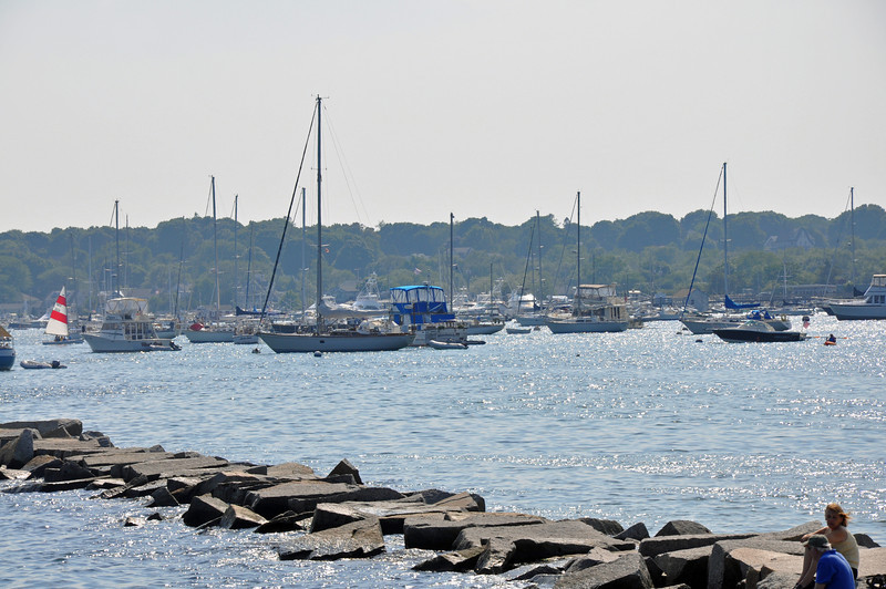 Scituate Lighthouse - boats and jetty.jpg