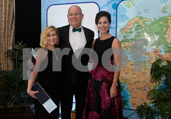 11/18/2017 Mike Orazzi | Staff Kurt Barwis and his wife Jean pose with Mary Lynn Gagnon during the 2017 Bristol Hospital Ball entitled Around the World, Celebrating the Diversity and Culture of Our Community held at the Aqua Turf Club in Southington Saturday evening.