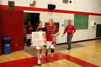 Girls Varsity Basketball - 2008-2009 - 2/26/2009 Grant (Seniors Night)