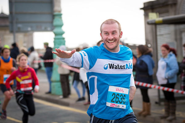 The Brighton Half Marathon with Water Aid