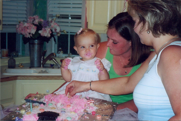 Olivias First b day
