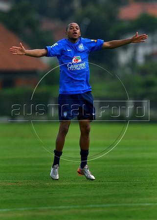 Brazil Team WC 2010 training