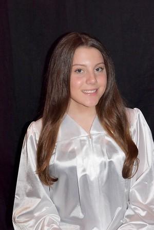 Maddy 8th grade grad
