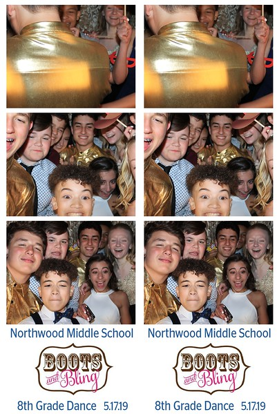 "Northwood Middle School ""Boots and Bling 8th Grade Dance 2019"""
