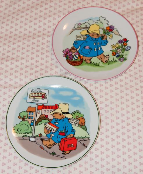 Paddington Bear Plates