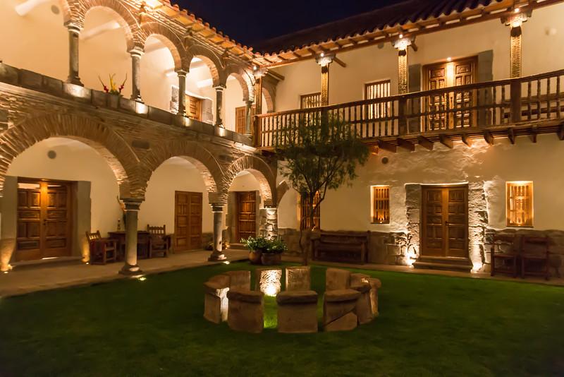 End your luxurious trip to Machu Picchu with a stay at Inkaterra La Casona Hotel in Cusco, Peru.