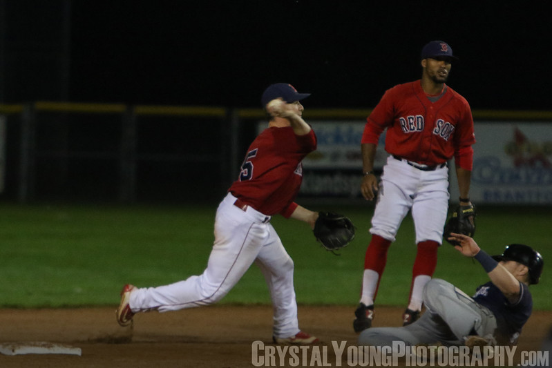 Barrie Baycats at Brantford Red Sox IBL Playoffs, Semifinals Game 2 August 16, 2017