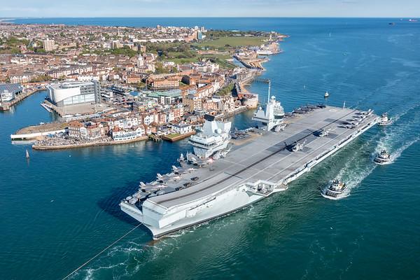 HMS Queen Elizabeth - CSG Air Group