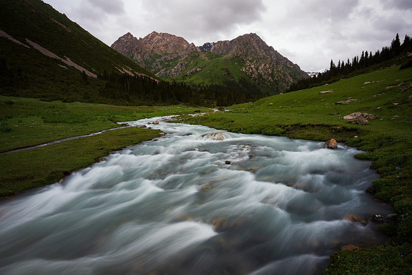 Landscapes of Kyrgyzstan