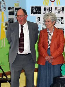Gene McGannon and Shirley (Seveland) McGannon.